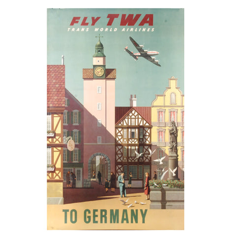 Twa Germany Travel Poster