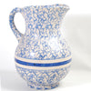 Spongeware Pitcher & Basin