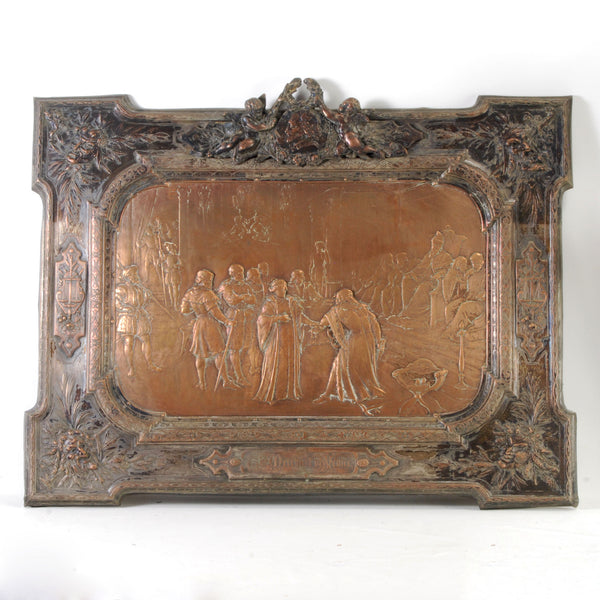 Copper Plaque
