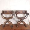 Pair Savonarola Chairs