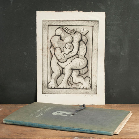 Folio Drawings Of Jacques Lipchitz