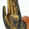Thai Lacquered Bronze Hand