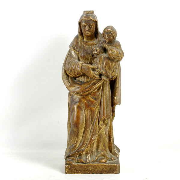 Carved Gilt Madonna