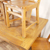 Ranch Oak Dining Table & Chairs