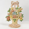 Basket Of Flowers Doorstop