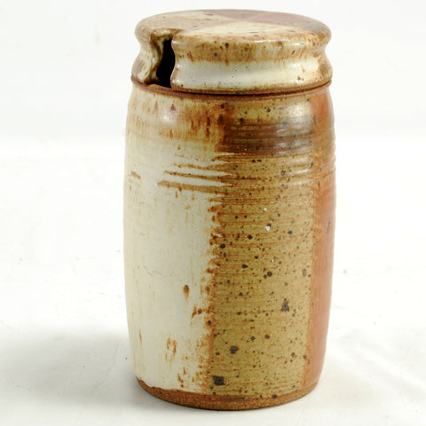 Studio Pottery Honey Pot