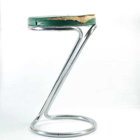 Chrome Z Stool