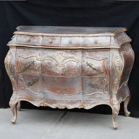 Silver Gilt Italian Commode