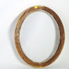 Oval Lemon Gold Frame