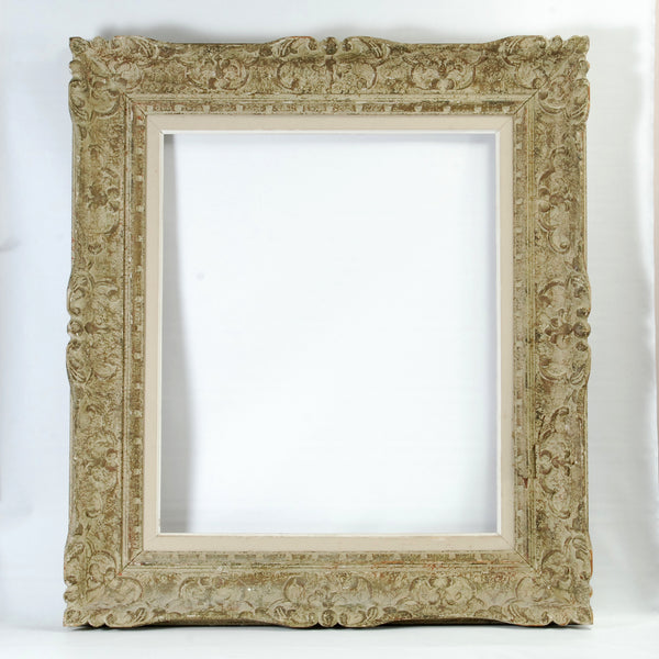 Carved Wood French Frame