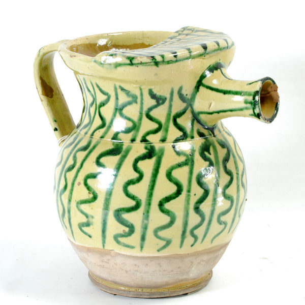 Continental Pottery Pitcher