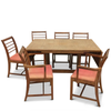Modern Oak Dining Set