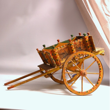 Toy Sicilian Donkey Cart