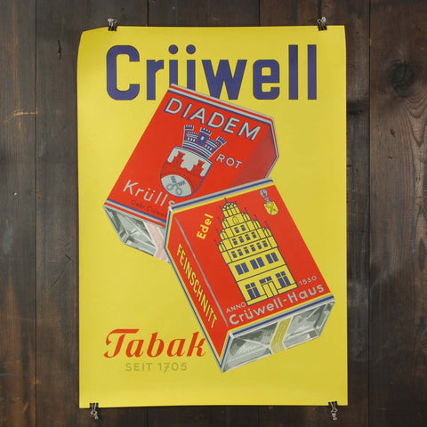 Cruwell Tobacco Poster