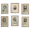 6 18Th C. Portrait Prints