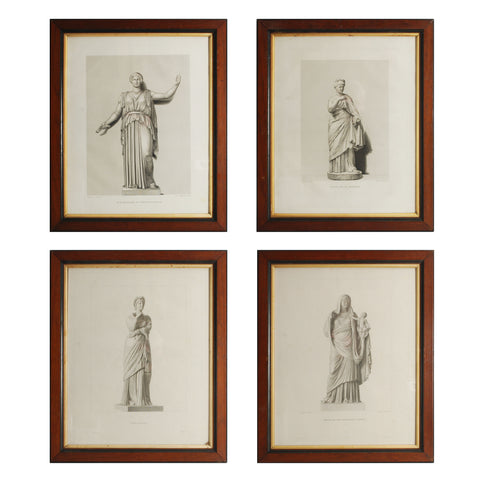 Four Classical Prints