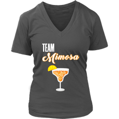 Team Mimosa Funny Brunch Bachelorette Party Champagne Celebration T-Shirt