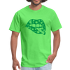 Cannabis Lips With Joint Fun Weed Marijuana Men's T-Shirt - kiwi