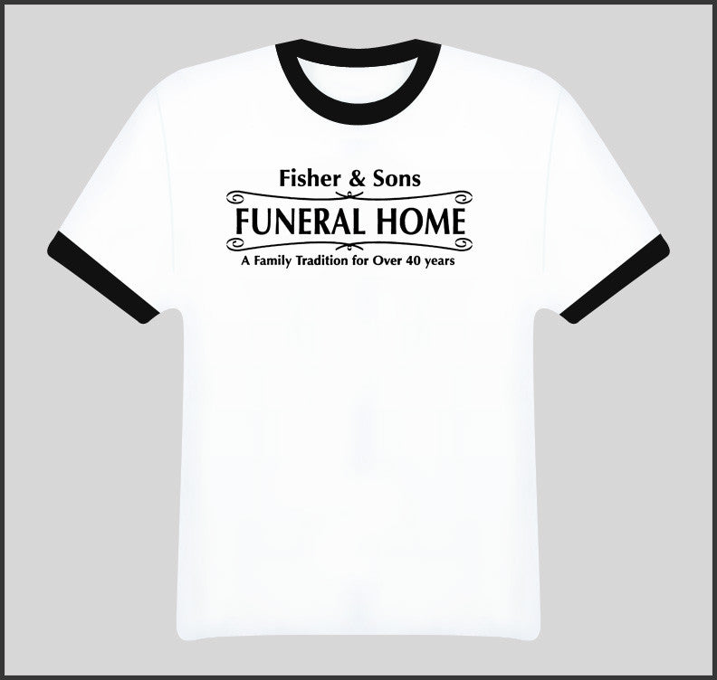 Six Feet Under Fisher And Sons Funeral Home T Shirt - Tees Happen