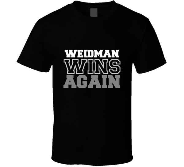 Chris Weidman Wins Again Fighter Champion Boxer Fan T Shirt - Tees Happen
