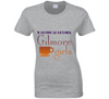 I'd Rather Be Watching Gilmore Girls Fan TV Ladies T Shirt - Tees Happen