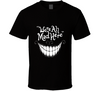 We're All Mad Here Wonderland Cheshire Cat Hatter T Shirt - Tees Happen
