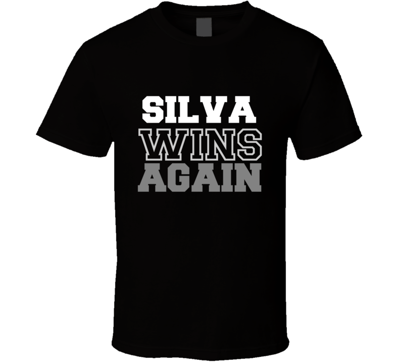 Anderson Silva Wins Again Fighter Champion Boxer Fan T Shirt - Tees Happen