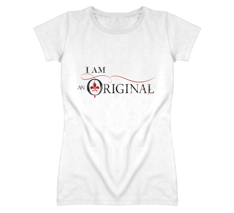I Am An Original Vampire Tv Show  T Shirt - Tees Happen