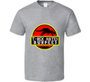 T-Rex Hates Burpees Funny Fitness Gym Workout Dinosaur T Shirt - Tees Happen