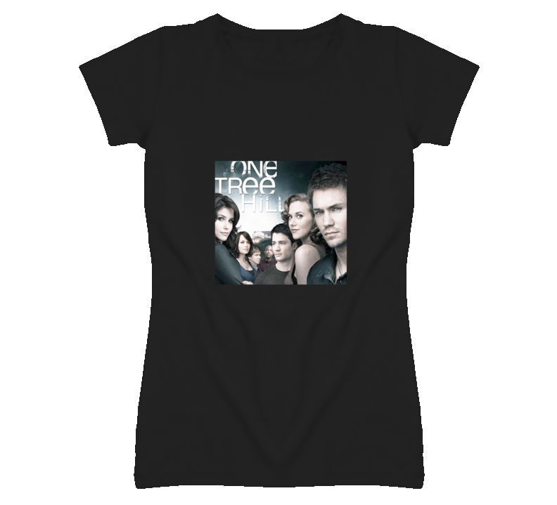 One Tree Hill Lucas Brooke Peyton Nathan Haley Drama TV Show T Shirt - Tees Happen