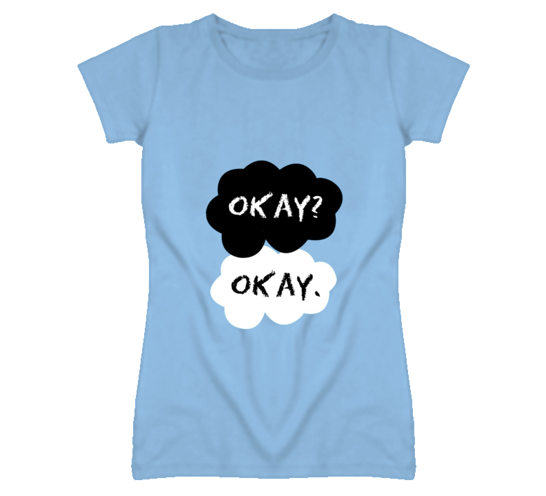 The Fault in Our Stars Okay? Okay. Book by John Green  T Shirt - Tees Happen