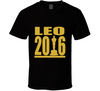 Leo 2016 Leonardo DiCaprio Oscar Movie Film T Shirt - Tees Happen