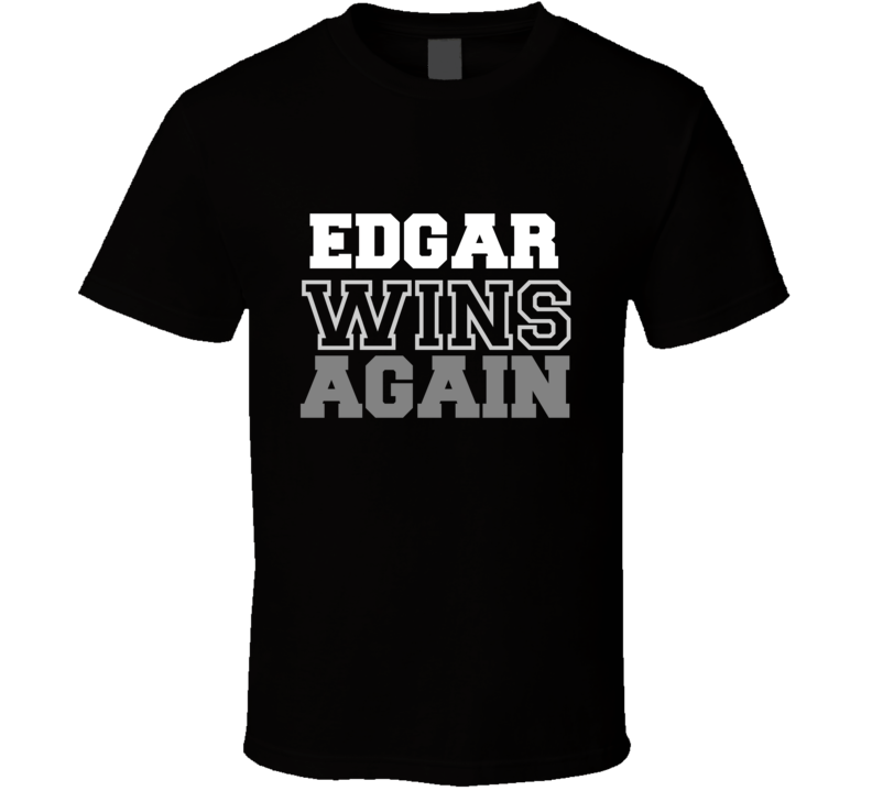 Frankie Edgar Wins Again Fighter Champion Boxer Fan T Shirt - Tees Happen