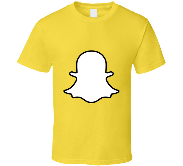 Ghost Snapshirt Fun Snapchat T Shirt - Tees Happen