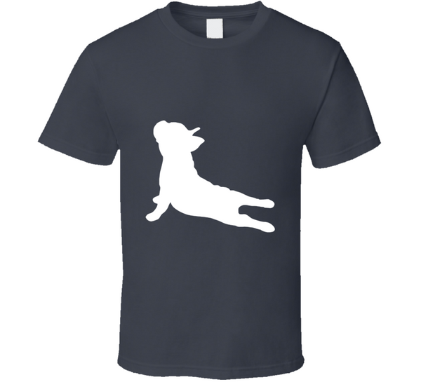 French Bulldog Yoga Upward Dog Cute Funny Animal T Shirt - Tees Happen