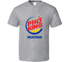 Pho King Delicious Funny Vietnamese Noodle Bowl Food Pun  T Shirt - Tees Happen