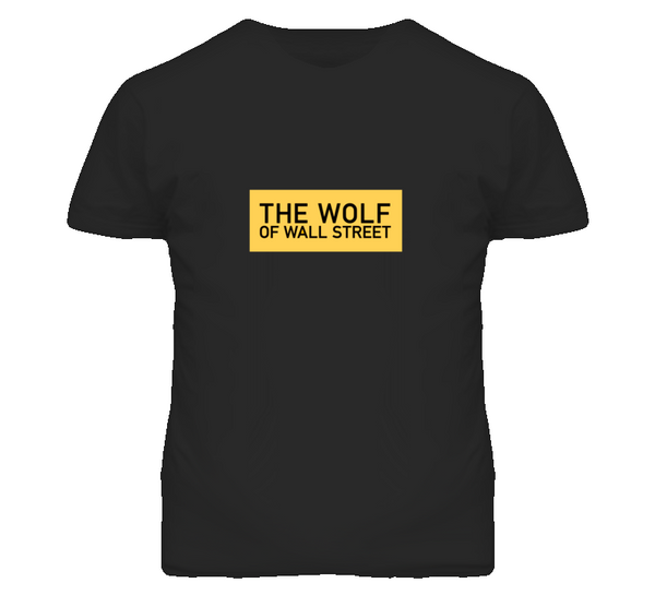 Wolf of Wall Street Movie Leonardo DiCaprio T Shirt - Tees Happen