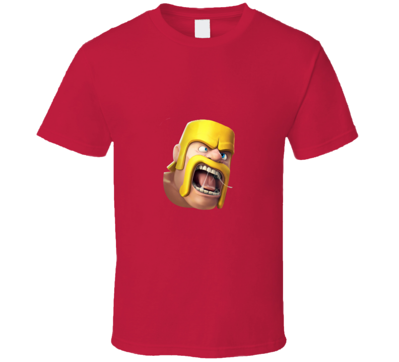 Clash of Clans Barbarian App Game T Shirt - Tees Happen