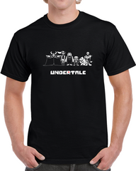 Undertale Character Rpg Video Game Flowey Papyrus Toriel Sans T Shirt - Tees Happen