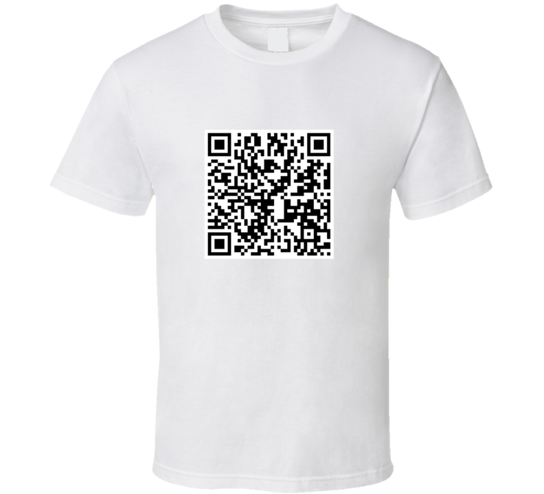 You Are a Creeper QR Code T-Shirt - Tees Happen