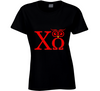Chi Omega Owl Sorority College Humor  T Shirt - Tees Happen