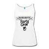 Bachelorette Party Crew Wedding Bridesmaid Celebration Team Women's Tank Top - white