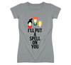 I'll Put a Spell On You Hocus Pocus Witch Halloween Holiday T Shirt - Tees Happen