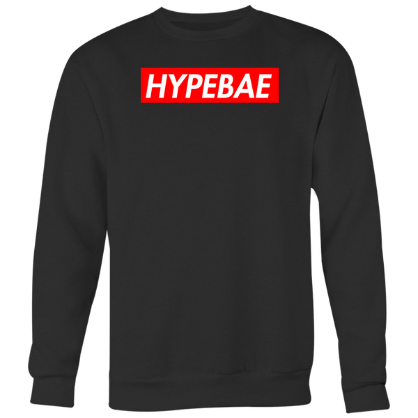 HYPEBAE Red Supreme Logo Contemporary Women's Trending Creative Fashion Novelty T-Shirt - Tees Happen