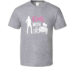 Dolls With Balls Matching Bowling Sports Team League Ladies Tournament T-shirt