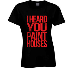 I Heard You Paint Houses Irishman Mafia Mob Movie Long Sleeve