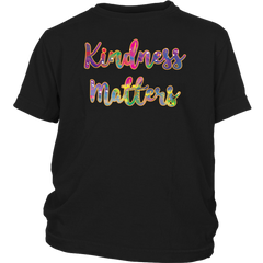 Kindness Matters Cute Anti-Bullying Postive Awareness Kind Campaign T-Shirt