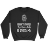 I Didn't Choose The Bun Life it Chose Me Funny Messy Bun Mom Life T-Shirt