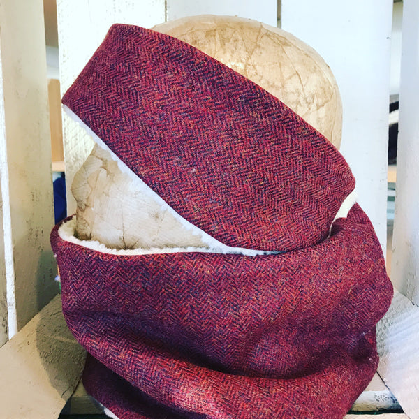 Tweed snood