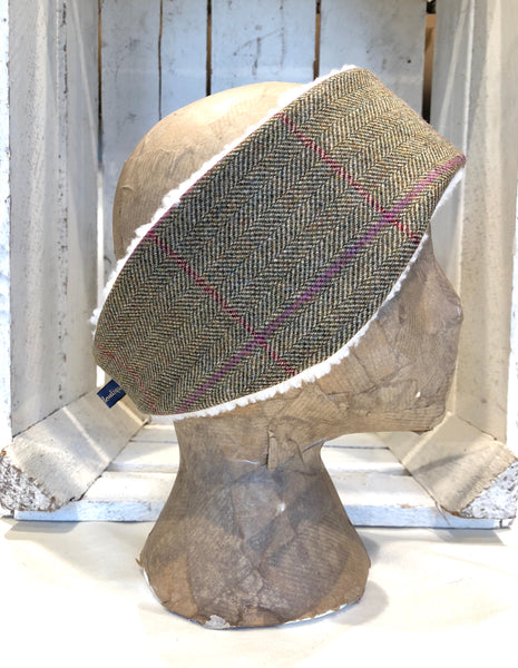 Lovat tweed headband - Gurston